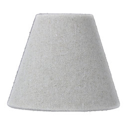 Home Concept - Chandelier Clip-On Sand Linen Premium Lampshade 3x4x4 - Celebrate Your Home - Home Concept invites you to welcome your guests with our array of lampshade styles that will instantly upgrade your space