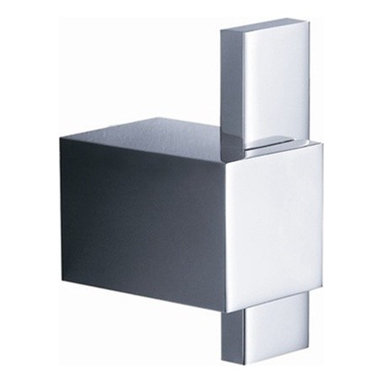 Fresca - Fresca Ellite Bathroom Robe Hook - All our bathroom accessories are imported and are selected for their modern, cutting edge designs. All accessories are made with brass with a quadruple chrome finish. All our accessories have been chosen to complement our other line of products including our vanities, steam showers, whirlpools, and toilets.