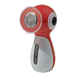 """Alessi - Alessi """"Piripicchio"""" Clothes/Fabric Shaver - Pills bringing you down? Get clean, happy and lint-free with this fun, battery-operated clothes shaver. The bird-shaped body comes in your choice of three fun colors ready to peck its way all over your sweaters, jackets or throws."""