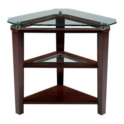 Broyhill Furniture - Triangle Accent Table - 3431-007 - Ellerbe Collection