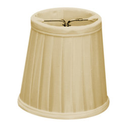 Home Concept - Crisp Linen Pleated Clip-on Candelabra - Why Upgrade to Home Concept Signature Shades?