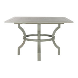 Safavieh - Safavieh Ludlow Ash Grey Square Dining Table - The rustic-chic Ludlow square dining table adapts with ease to country and urban interiors.