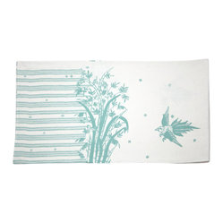 Indochine Friendship Runner, White/Robins Egg
