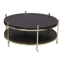 Gibson Round Cocktail Table