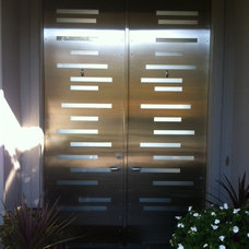 Contemporary Front Doors by Milan Heger