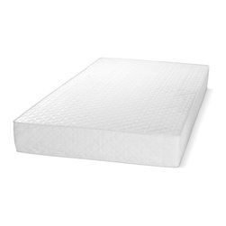 Select Luxury - Select Luxury Sweet Baby Extra Firm Crib Mattress - Outfit your baby's bed with this foam crib mattress for safe and firm support. The mattress fits all standard size cribs and meets all safety standards. The mattress is firmer on the edges,encouraging babies to sleep in the middle of the bed.