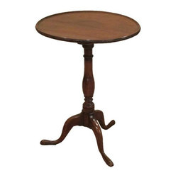 English Tea Table/Candle Stand - An English Tea Table is a Downton necessity, as there's always time for tea.