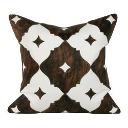 Eloise Large Pillow - For sprucing up a plain sofa, the texture and print of these pillows are so fun. They are bright enough for a sunroom.