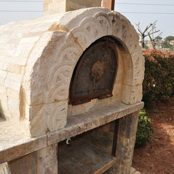 Pizza Ovens & BBQs out of Stone for Outdoor Cooking - Image provided by 'Ancient Surfaces'