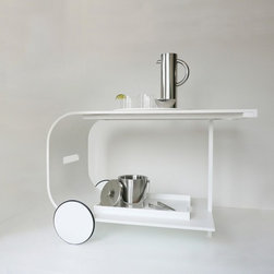 Quick Ship - Cart Blanc Designed by West Chin Architects & Interior Designers