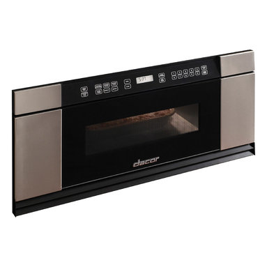 """Dacor Discovery 30"""" Built-In 1.0 Cu. Ft. Microwave, Black Glass 