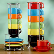contemporary cups and glassware by World Market