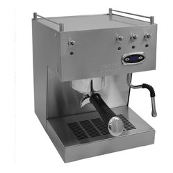 Ascaso Steel UNO Professional PID Version 2 Brushed Stainless Espresso & Cappucc