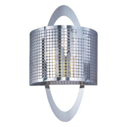 Maxim Lighting - Maxim Lighting 22308PN Mirage 1-Light Wall Sconce In Polished Nickel - Features