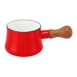 Dansk - Dansk Kobenstyle Butter Warmer - You can use this adorable wood-handled crock to warm your butter in, but why stop there? Prettify your table during every meal by filling it with syrup, sauces, dressings or salsas.