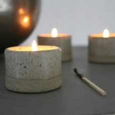 Modern Candles And Candle Holders by Tom Butcher Ceramics