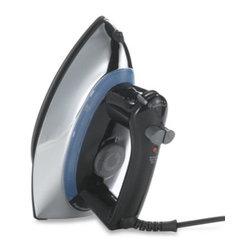 Hamilton Beach - Hamilton Beach Retro Style Iron - Yesterday's classic metal iron is updated with modern technology in this retro-style iron. Features automatic shut off, non-stick soleplate and spray and steam blast function buttons.