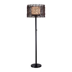 Kenroy - Kenroy 32220BRZ Tanglewood Outdoor Floor Lamp - Kenroy 32220BRZ Tanglewood Outdoor Floor Lamp