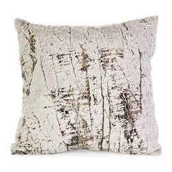 IMAX CORPORATION - Norfolk Square Pillow - The Norfolk square pillow is inspired by the white bark of an unmistakable birch tree, yet is soft to the touch. Find home furnishings, decor, and accessories from Posh Urban Furnishings. Beautiful, stylish furniture and decor that will brighten your home instantly. Shop modern, traditional, vintage, and world designs.