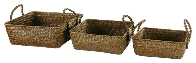 Traditional Baskets by Oriental Furniture