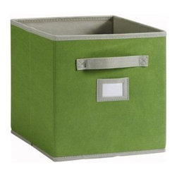 Martha Stewart Living Fabric Drawer - These storage cubes are perfect for hiding clutter or storing books and papers. They come in a variety of colors and fit perfectly on a cubby-style bookcase.