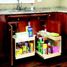 Contemporary Cabinet And Drawer Organizers by ShelfGenie of Metro DC