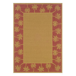 """Sphinx - Sphinx Lanai 606c Outdoor Rug - 5 ft 3 in x 7 ft 6 in - Oriental Weavers Sphinx Lanai 606c Area Rug . The Lanai Collection was inspired by the beauty and popularity of natural Sisal rugs. The multiple weaves and textures in each rug create fashionable, yet casual looks. The collection not only offers casual designs, but the inherently stain resistant fibers encourage a relaxed atmosphere to socialize with family and friends without the traditional worries associated with natural fiber rugs.Features: Casual designs inspired by sisal rugs, Multiple weaves and textures, Inherently stain resistantConstruction: Machine MadeMaterial: 100% PolypropylenePile Height: 1/8"""" - 1/4""""Please Note: Call for availability. Colors may differ from pictures.Please ask about getting a sample if you are unsure of color."""