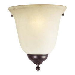 Savoy House Lighting - Savoy House Lighting 9-2898-1-56 Brandywine Traditional Half Moon Wall Sconce - A group with long and graceful arms accented by Cream Scavo glass.
