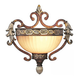 Joshua Marshal - Palacial Bronze With Gilded Accents Wall Light - Palacial Bronze With Gilded Accents Wall Light