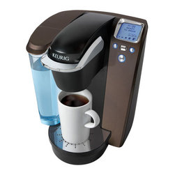 Keurig - Keurig K75 Platinum Edition Single Serve Coffee Maker Kit, Mocha - Features: