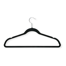 Honey Can Do International LLC - Honey Can Do Velvet Touch Suit Hanger - HNG-01050 - Shop for Clothing Hangers from Hayneedle.com! About Honey-Can-DoHeadquartered in Chicago Honey-Can-Do is dedicated to helping you organize your life. They understand that you need storage solutions that are stylish and affordable at the same time. Honey-Can-Do focuses on current design trends and colors to create products that fit your decor tastes while simultaneously concentrating on exceptional quality. When buying a Honey-Can-Do product you can be sure you are purchasing a piece that has met safety control standards and social compliance methods.
