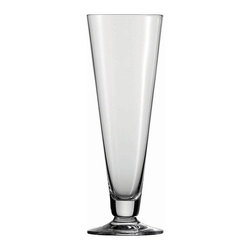 Frontgate - Set of Six Schott Zwiesel Footed Pilsner Beer Glasses - Holds 14 oz.. Designed exclusively by Schott Zwiesel. Break resistant with added strength at the rim, bowl, and stem. The hardest, most brilliant crystal glass in the world. Remarkable clarity, brilliance, and luster. Our Schott Zwiesel Footed Pilsner Beer Glasses offer the look and weight of glass without the fragility. By replacing the lead content with titanium and zirconium, these refined glasses resist chips, cracks, and scratches. This technology creates lasting durability and longer life for the stemware, without compromising the aesthetic quality of the glasses. Tritan Crystal is used by renowned sommeliers, restaurants, cruise lines, and resorts worldwide.  . . . . . Proven through independent testing to be fully dishwasher safe. No lead content. Made in Germany.