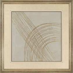 Paragon Decor - Metallic Echo I Artwork - Exclusive Hand Painted Mixed Media