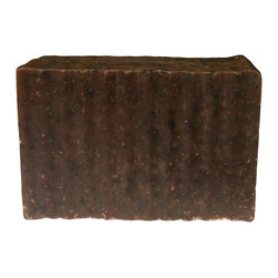 BOSSANOVA - TURKISH MOCHA 5.5 OZ SOAP - Milk chocolaty sweet, this soap is made from 100% organic Turkish blended coffee beans high in caffeine strongly brewed to perfection to help tighten and tone the skin. This soap has a decadently rich coffee fragrance with creamy top notes of milk chocolate and vanilla. This soap is made with coffee grounds to gently exfoliate your skin, allowing the caffeine to deeply penetrate to help wash away imperfections.  If you're a coffee lover, you will love this highly nourishing and skin toning soap.