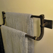 Traditional Towel Bars And Hooks by Grizzly Iron, Inc