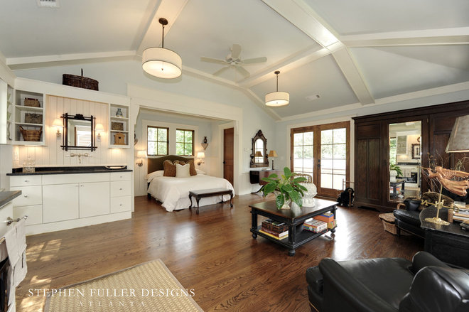 Traditional Family Room by Stephen Fuller Designs