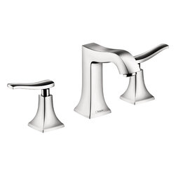 Metris C Widespread Faucet - The Metris C widespread faucet emphasizes a lasting awareness of design, it is the translation of the traditional understanding of beauty into the here and now.