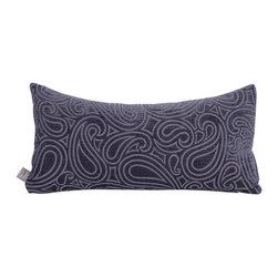 Howard Elliott - Howard Elliott Rhythm Kidney Pillow, Royal - Kidney pillow rhythm royal