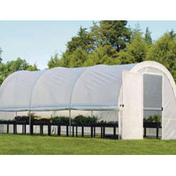 ShelterLogic - Organic Growers Greenhouse, 10 x 19ft.8in. x 8ft./3 x 6 x 2,4 m - Grow and protect plants with this roomy and compact, backyard greenhouse. High-quality, professional design and superior strength makes it perfect for starting seeds and extending growing seasons.