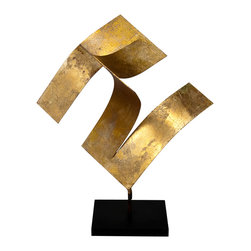 Studio Eight - Contemporary Modern Sculpture, TANGENT ORIGAMI II by Charles Sabec, 2014. - TANGENT ORIGAMI II