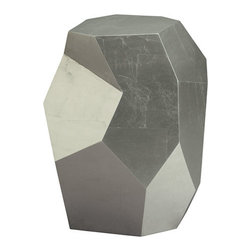 Baker Furniture : Quarry Accent Table by Barbara Barry - This side table is a bit geodesic, adding sculptural interest wherever choose to place it.