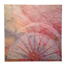 "karmic stone - Sun Art- Art to Inspire- Giclee Canvas- limited edition - 12"" x 12"" x 1"" giclee canvas print  ready to hang."
