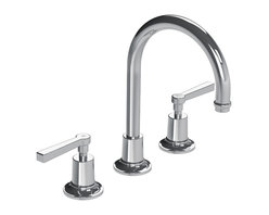 Lefroy Brooks - Fleetwood Lever Faucet with Click-Up Basin Waste, Polished Chrome - Known as the Rolls Royce of plumbing fixtures, Lefroy Brooks collections historically reference design aesthetics from turn of the century classics to today's minimalism. For over 25 years, Lefroy Brooks is known as the most recognized luxury-plumbing brand among the world's wealthiest consumers.