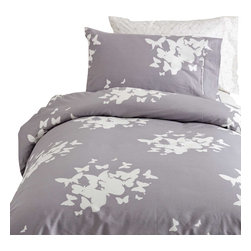 Dormify - Believe You Can Fly - Twin XL Duvet/Sham Set - Boring duvet set putting you to sleep? This modern, stylish set comes with one duvet cover and a standard sham(s), is machine washable and is made of 100% cotton sateen.