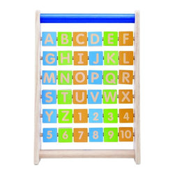 Wonderworld - Wonderworld Alphabet Frame Multicolor - WED-3117 - Shop for Learning and Education from Hayneedle.com! About Wonderworld by Smart GearAs a strong advocate of protecting the environment Wonderworld insists on using only rubber-wood that is a replenishable source that's widely accepted throughout the world as an environmentally-friendly material. Rubber-wood is a by-product from the culling of rubber trees in excess of 25 years of age that can no longer produce latex for commercial application and need to be replanted. This means not only is deforestation avoided but every part of the tree is used to its fullest. Wonderworld strictly adheres to their policy of only non-toxic colors and lacquers on their toys. Wonderworld uses only water-based wood paint for their wooden toys. This minimizes child exposure to chemicals use of underground fossil fuel CO2 emission and chemical waste released into the environment.