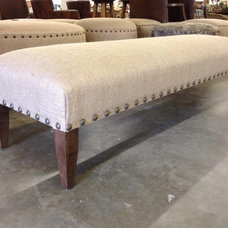 Eclectic Indoor Benches by OpenWeave