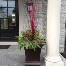 Modern Outdoor Holiday Decorations by What the Farm, Inc.