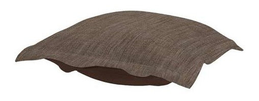 Howard Elliott Coco Slate Puff Ottoman Cushion - Fashionista! Extra Puff cushions in Coco are a great way to get a new look without the expense of buying a whole new ottoman! Puff cushions fit Scroll ottoman frames. Let the sophisticated color and texture of the Coco Puff cushions make your decor simply striking!
