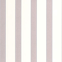 Graham & Brown - Duke Grey/White Wallpaper - Duke is a sophisticated grey and white stripe design which is suitable for all rooms and walls. It can be hung vertically creating the impression of having a higher wall or horizontally making a room looks more spacious. The design can be perfectly coordinated with Maison.