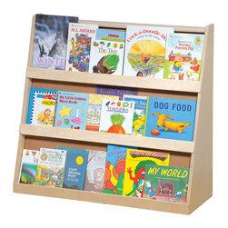 "Steffywood - Steffywood Home Indoor Office School Classroom Kids Storage Book Display - Three shelf book display has three, 2"" wide book shelves.  Unit constructed of 5/8"" thick all birch veneer panels."